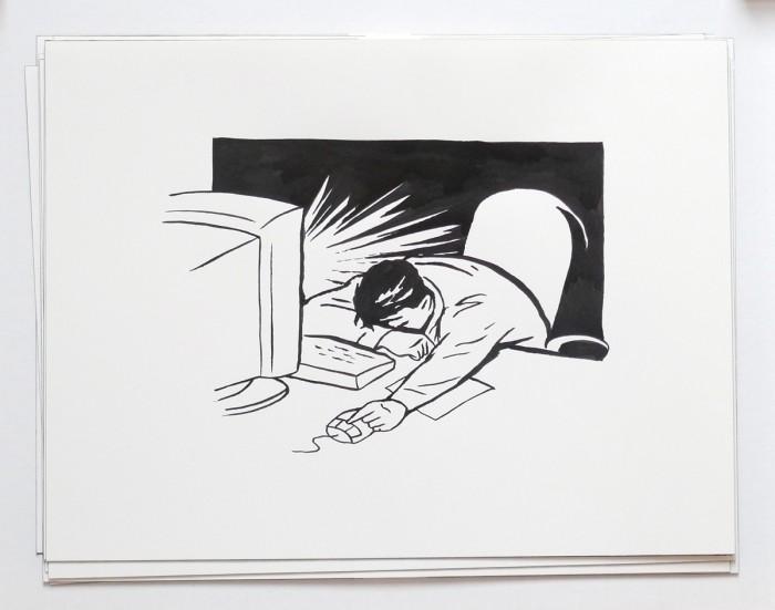 sleepy computer rafael rozendaal