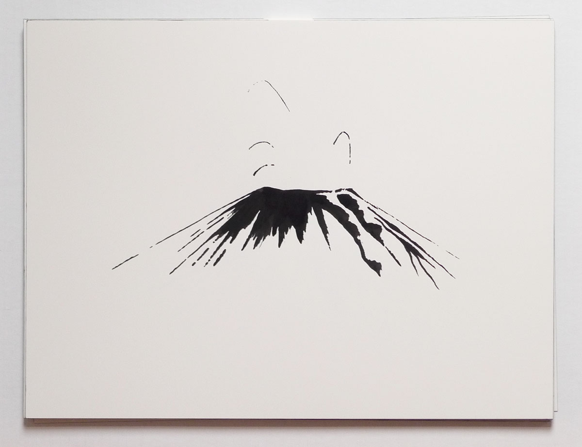 how to draw galeras volcano
