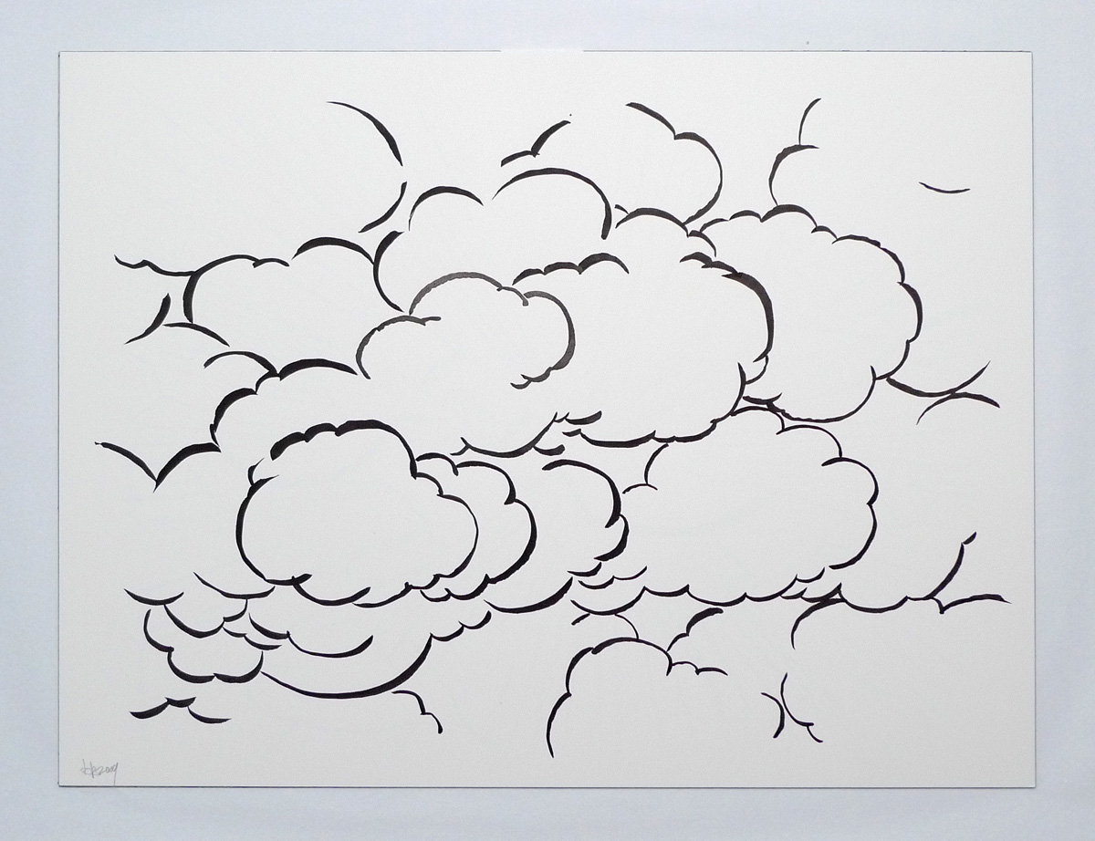 This is an image of Juicy Smoke Cloud Drawing