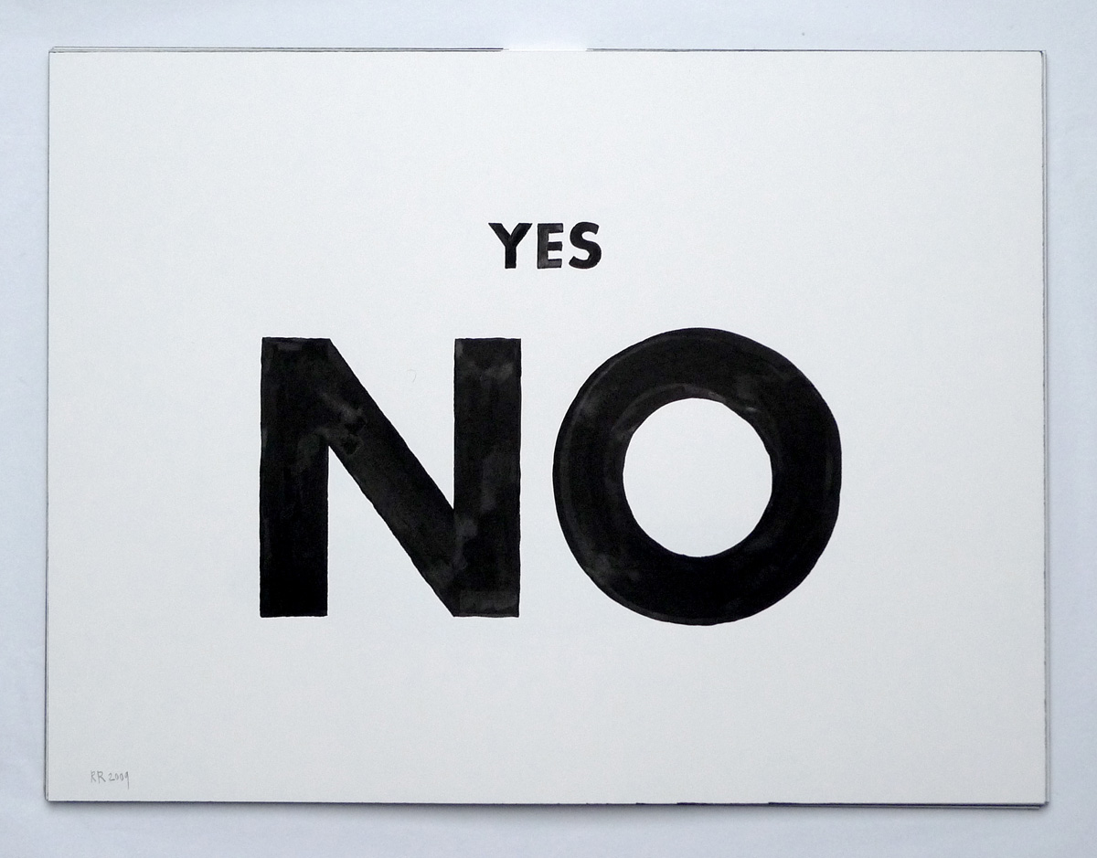 Casino Yes No Sign