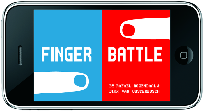 finger battle mockup