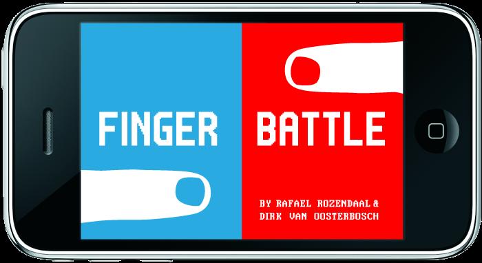 finger battle mockup