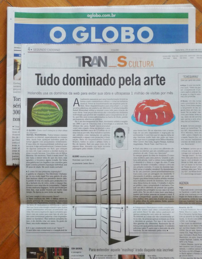 o globo brazilian newspaper