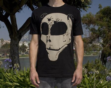 tagbanger alien skull tshirt