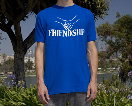 tagbanger friendship tshirt