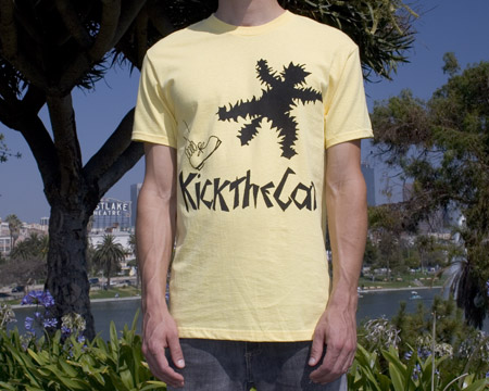tagbanger kick the cat tshirt