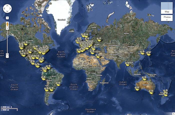 BYOB april 2013 map